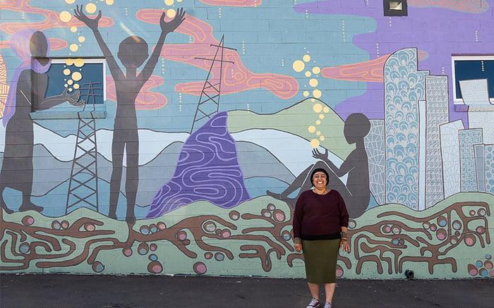 Sun Valley Mural 6