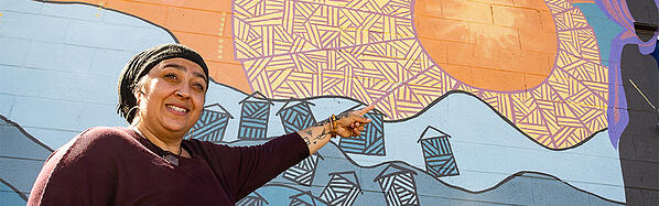 Art + Sol: Creating a Mural with Sun Valley Neighborhood