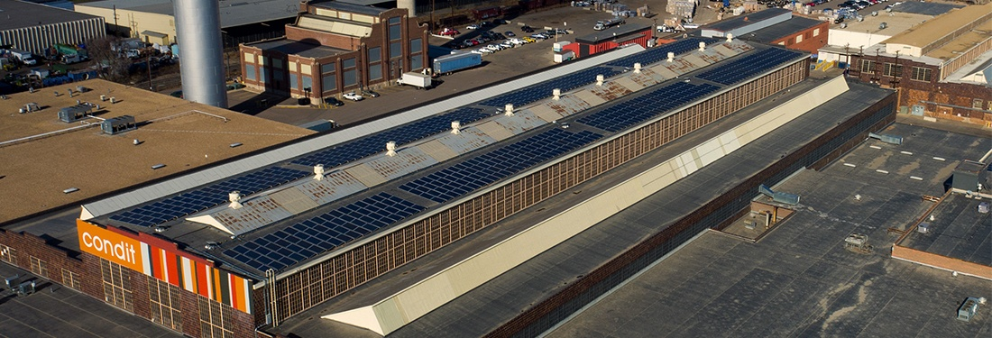 Historic Colorado Trade Center Goes Solar